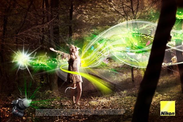 Nikon - light angel - Neilduerden-co-uk