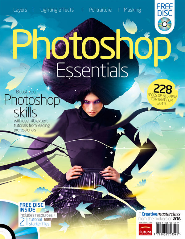 Photoshop Essentials cover by Brand Nu